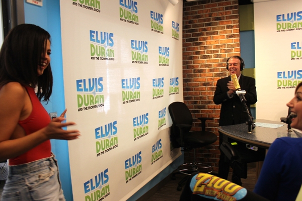 Selena on Elvis Duran and The Morning Show