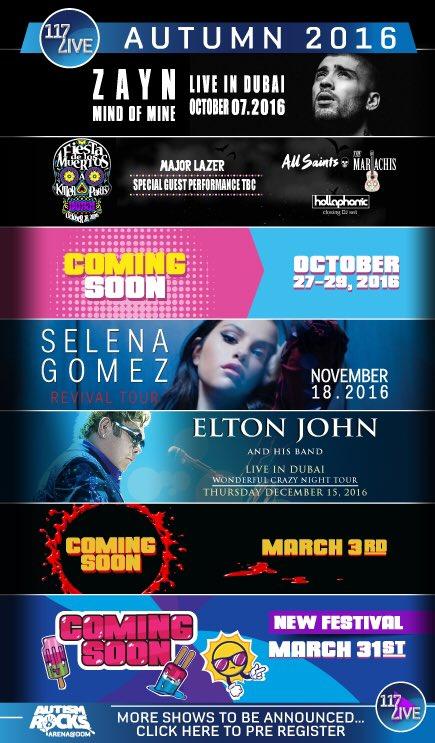 Selena is set to perform in Dubai