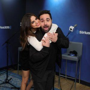 Selena with DJ Mikey Piff