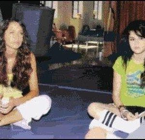 Fetus pic of Selena and Miley