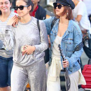 Selena arriving in Sydney, Australia