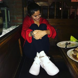 April 22 Selena on Instagram: Decided to come to Germany to meet my @puma family