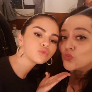23 April New pic of Selena with a fan in Germany