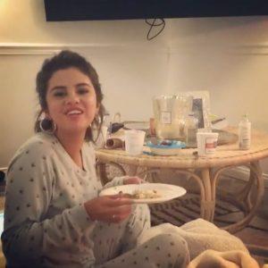 April 20 Selena on Instagram: Yesterday @amyschumer sent me her new movie
