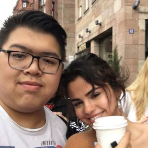 23 April Selena with fans in Nuremberg, Germany
