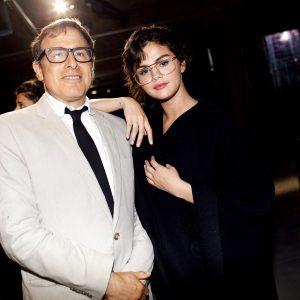 4 May Selena with David O. Russel at Prada Resort 2018 Fashion Show in New York