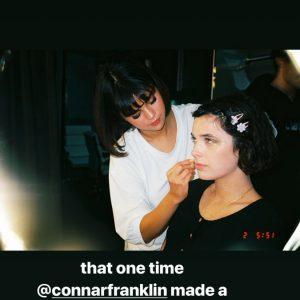 11 May Caroline Franklin on Instagram Stories