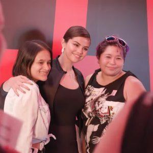 Selena opens Puma DEFY City