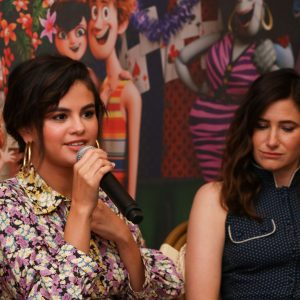 28 June professional pics and more interviews of Selena from Hotel Transylvania 3 Q&A