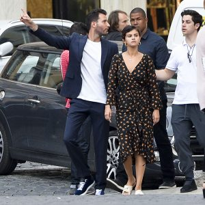 21 June Selena is out in Rome, Italy