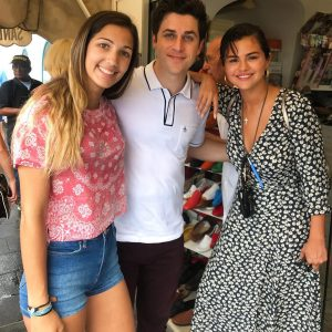 18 June Selena spotted with David Henrie in Monte Cassino, Italy