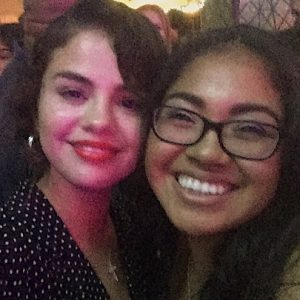 23 June more pics of Selena with fans at Choc Prom
