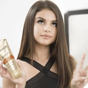 Check out Pantene commercials with Selena on Instagram