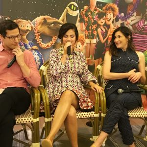 28 June Selena at Hotel Transylvania 3 Q&A in Los Angeles