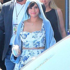 30 June Selena leaving Hotel Transylvania 3 premiere in Los Angeles