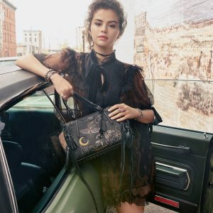 1 July Ready. Set. Selena! check out first look at Selena's photoshoot for Coach fall collection