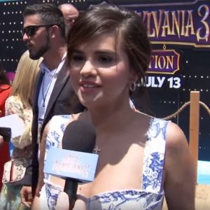 30 June more interviews of Selena from Hotel Transylvania 3 premiere