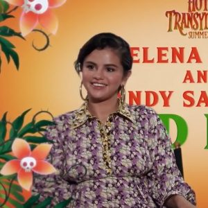 14 July more interviews of Selena from Hotel Transylvania 3 Q&A