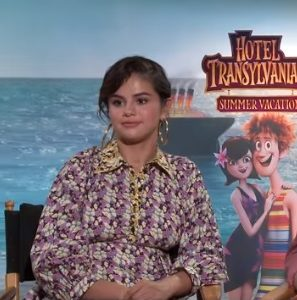 12 July check out new interviews of Selena from Hotel Transylvania 3 Q&A