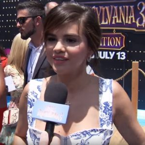 30 June mix of Selena's interviews from Hotel Transylvania 3 premiere