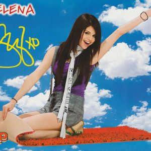 2 August new poster of Selena from BOP Tiger Beat Magazine from 2008