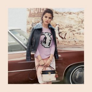 8 August @Coach on Twitter: #SelenaGomez stars in and wears pieces from her new #CoachxSelena collection