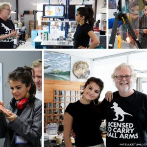 30 August @IVinvents on Twitter: @SelenaGomez' personal commitment to philanthropy brought her to IV Lab three weeks ago