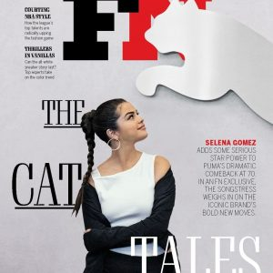 27 August Selena on the cover of Footwear Magazine