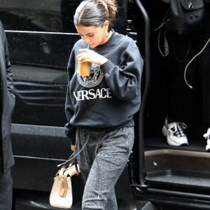 10 September Selena is out and about in New York
