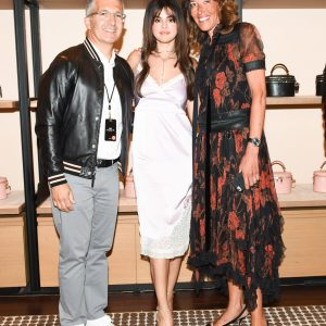 5 September check out candids of Selena at the Coach Event in Los Angeles