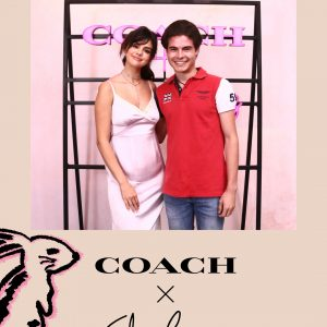 5 September Selena with fans at the Coach Event in Los Angeles