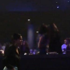 22 September Selena spotted at Jeniffer Lopez's concert in Las Vegas