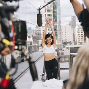 7 November check out behind the scenes pics of Selena for Puma