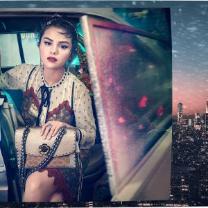 2 November check out Coach's Lights, Camera, Holiday campaign with Selena