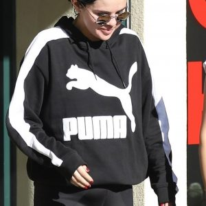 27 December Selena leaving Pilates in Los Angeles