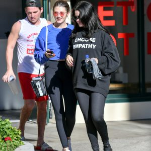 28 December Selena leaving Hot Pilates in Los Angeles