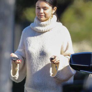 30 December Selena leaving Bible study session in Irvine, California
