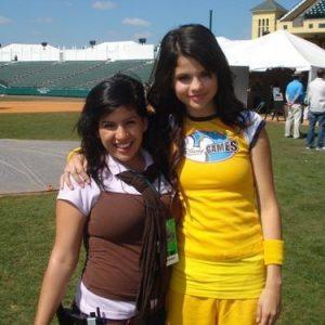 23 December new rare pics of Selena at Disney Games in 2008