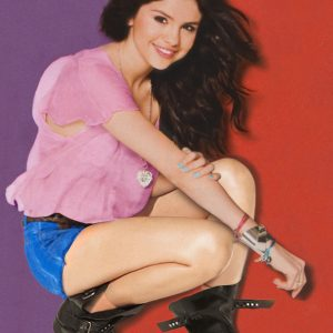 9 December new poster of Selena from Twist magazine