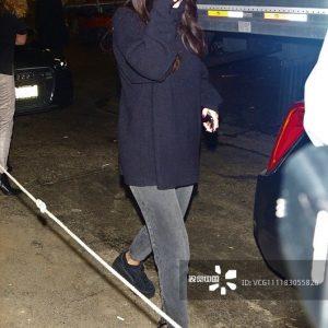 22 December Selena leaving Mastro's Steakhouse in Beverly Hills, California
