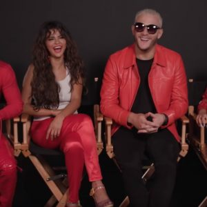4 December new behind the scenes video from set of Taki Taki music video