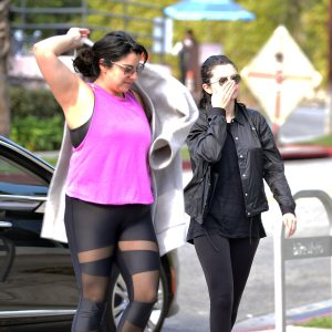 29 January Selena arriving at Starbucks in Los Angeles