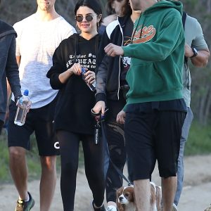4 January Selena spotted hicking in Los Angeles