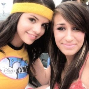 10 March Selena with fans at Disney Games in 2008