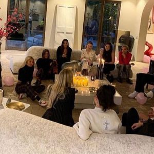 21 March Selena at Raquelle Stevens's Birthday party