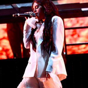 12 April HD pics of Selena performing Taki Taki with DJ Snake, Ozuma and Cardi B at Coachella in California