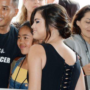 25 April Selena attending We Day California in Inglewood
