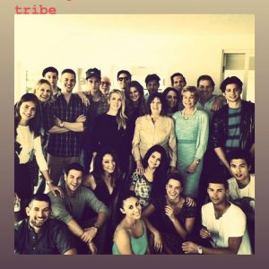20 April Selena in Charity Baroni's Instagram Story