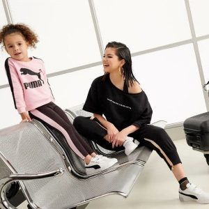 7 April new pic of Selena from photoshoot for Puma collection