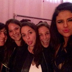 20 May rare pic of Selena at Victoria's Secret Fashion Show from 2015
